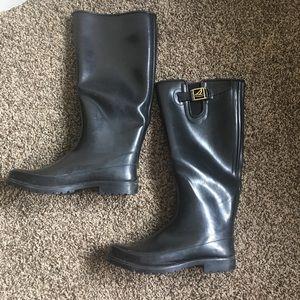 Sperry Waterproof Lined Rain Boots